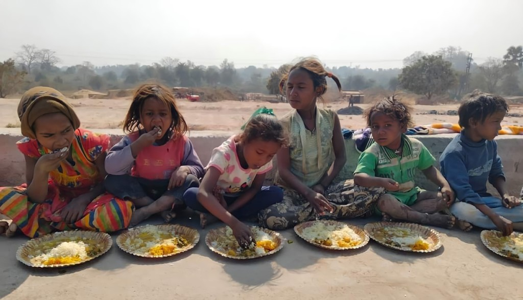 Enfants victime de la malnutrition