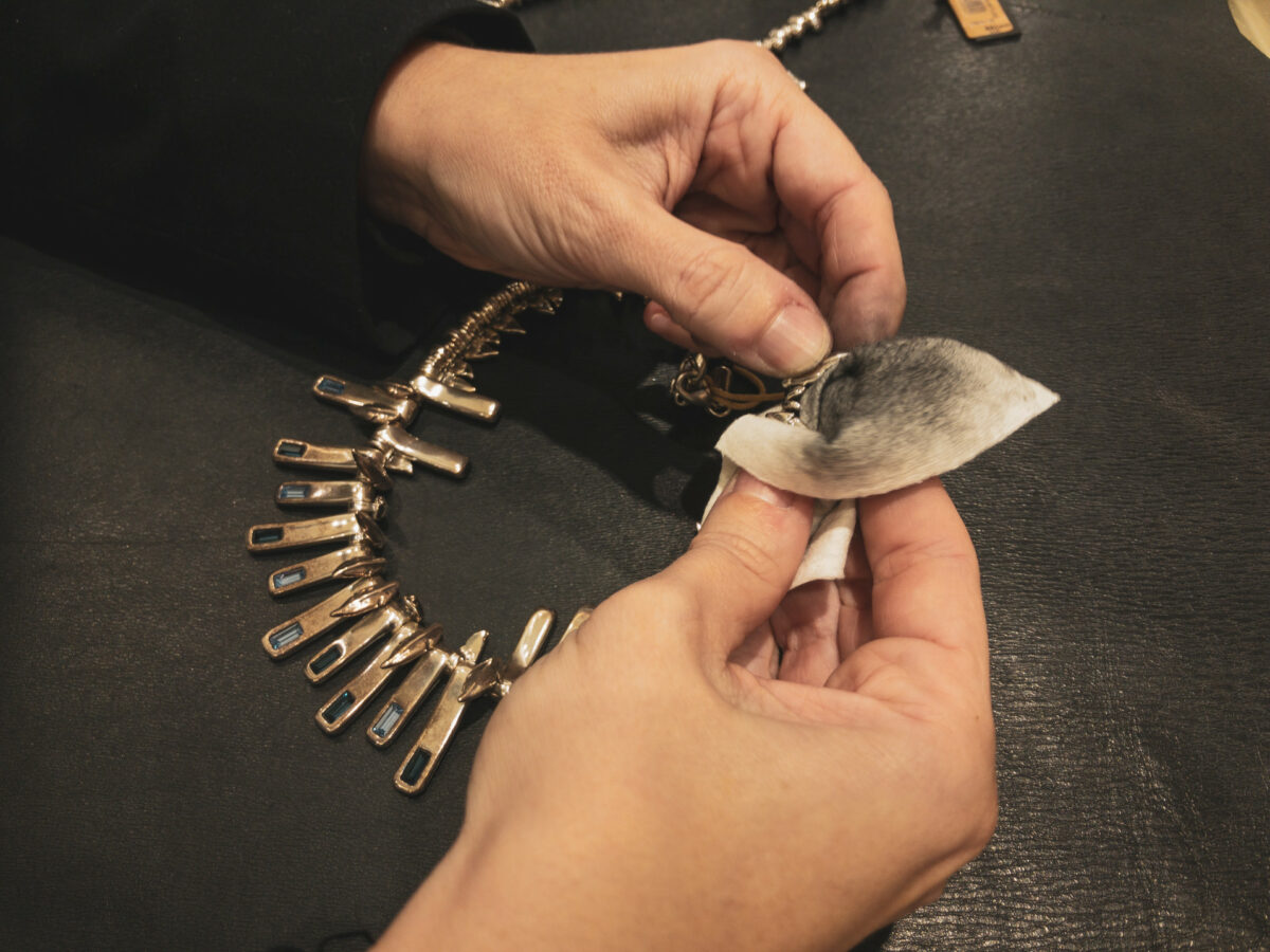 Nettoyer bijoux